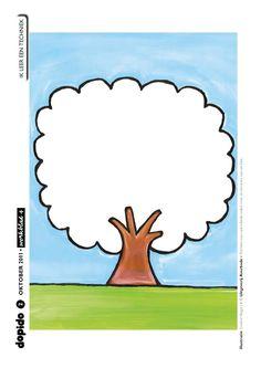 Werkblad pl- (plak, pluk) rode appels v papier erin plakken en plukken Trees To Plant, Fruit, Party, Plasticine, Crafts, Autumn, Colouring In, Activities, Early Education