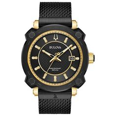 Bulova 98B303 Mens Precisionist Black Quartz Watch   #fashion #watches #bulova #mensfashion #menswatches #authentic #accessories #jewelry #menswatchesluxury #watch #watchesofinstagram #luxury #twotone #chronograph #mensoutfits #menstyle #collection #gold #freeshipping #fathersday #giftsforhim Mens Dress Watches, Watches For Men, Men's Watches, Casual Watches, Watches Online, Fashion Watches, Analog Watches, Ladies Watches, Cheap Watches