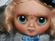 OOAK Blythe  Custom Doll-Lindsey Pouty