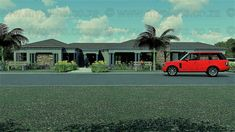 4 Bedroom House Plan - My Building Plans South Africa 4 Bedroom House Plans, Family House Plans, My Building, Building Plans, Beautiful House Plans, Beautiful Homes, Single Storey House Plans, House Plans South Africa, Free House Plans