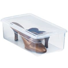 Our Shoe Boxes~Love these! They have a great deal on a box of 30. Love the fact that you don't have to label