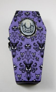 Haunted Mansion Small Wooden Coffin Box by PigtailsnCombatBoots