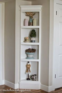Complete DIY tutorial on how to add built ins.....the EASY way!