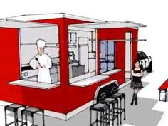 How to Build a High Quality Food Trailer - Starting a Street Food Business - YouTube