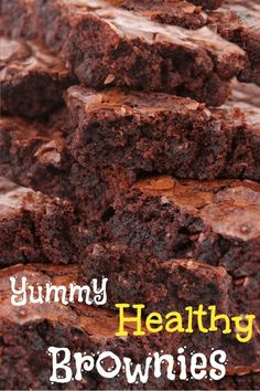 Don't you want an excellent brownie recipe that you don't have to feel guilty eating? Feel guilty no more with this healthy brownie recipe! You and your family will be smiling.