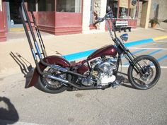 Custom Pan | Motorcycle | Totally Rad Choppers
