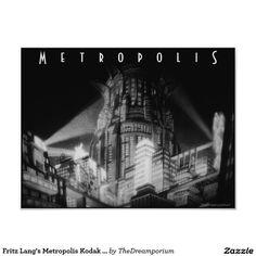 Fritz Lang's Metropolis Kodak Photo Print