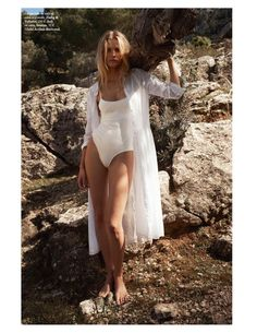 Top model Edita Vilkeviciute graces the pages of Vogue Paris' June-July 2017 issue. The Lithuanian stunner poses in all-white looks with a sultry edge in the Cedric Buchet lensed images. Posing outdoors, the blonde stuns in a mix of sheer dresses, lingerie pieces and breezy separates. Fashion editor Geraldine Saglio dresses Edita in the designs …