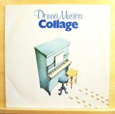 COLLAGE - Donna Musica - mint minus minus - Vinyl LP - Rare Italo Disco Pop