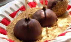 Peanut Butter Lollipops. #recipe http://www.tlc.com/tv-shows/next-great-baker/recipes/peanut-butter-lollipops-recipe.htm