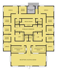 Medical Office Floor Plan                                                                                                                                                      More