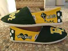 #Baylor TOMS, i want these from the store next to common grounds. but i hope they say xo or kkg!