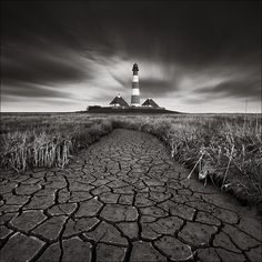 Westerhever Lighthouse II by Oliver Agit on 500px