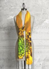 Golden Sunflower: What a beautiful product!  This scarf made with soft, luxurious fabric will add a bold, modern statement to any wardrobe