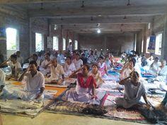 camp in Bangalore with blessings of yoga guru baba Ramdev World Yoga Day, Baba Ramdev, International Yoga Day, Blessings