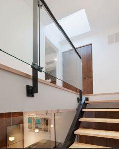 rail w glass & metal