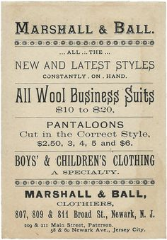 Vintage Images for Art | Marshall Ball Clothiers | www.tammytutterow.com.png