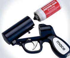 #Mace Pepper Spray Gun  http://www.absolutesecuritystore.com/mace-pepper-spray.html  Repin