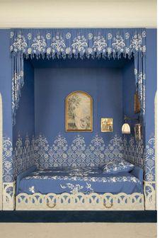 Bedroom of Jeanne Lanvin, fashion designer | Museum Documentation Centre - Decorative Arts ~ Paris