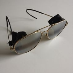 Wayfarer Aviator Vintage Sunglasses Pilot Army by Verymelicious, €120.00