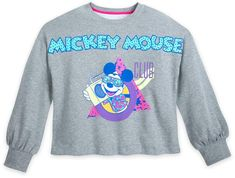 Disney The Mickey Mouse Club Crop Top Pullover for Women