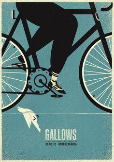 ::Tutoriais Photoshop::: Inspiração, Cartazes de Rock: Gallows. #Design #Creative
