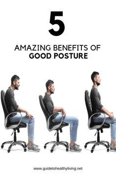 5 Amazing Benefits Of Good Posture - Healthy Living Health Facts, Health Tips, Health Recipes, Healthy Living Tips, Healthy Life, Natural Cough Remedies, Natural Cures, Weight Watchers Diet