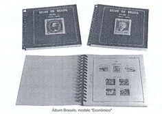 Para o colecionismo de selos do Brasil, os álbuns mais indicados são aqueles que já vêm com o roteiro da coleção, ou seja, já vêm ilustrados com as fotos dos selos a serem colecionados dispostos esteticamente, na ordem cronológica de emissão, bastando ao colecionador colocar os selos sobre as fotos, utilizando um protetor especial, fabricado para esse fim, pois os selos não