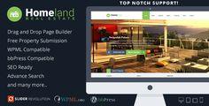 Homeland v3.0.2 – Responsive Real Estate WordPress Theme