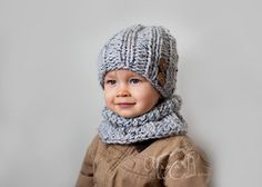 Download knitting pattern 014  Chunky Urban by CozyThingsPatterns