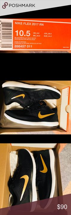 Brand new men's Nike 10.5 It's a brand new pair of the Nike. Men's size 10.5. I bought it last week from Nordstrom but I have already too many pair of blacks. Nike Shoes Athletic Shoes