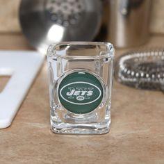 Caseys New York Jets Square Shot Glass  2 oz ** For more information, visit image link.