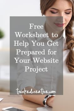 New website? Get the FREE Worksheet to help prepare for an incredible new business website! From trunkedcreative.com