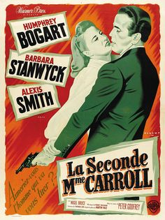 1944 movie posters Belgian | Movie Poster of the Week: The Posters of Barbara Stanwyck