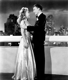 Frank Sinatra and Gloria DeHaven in Step Lively (1944)