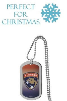 buy online ee7cc 73531 Florida Panthers  Team Tag Necklace