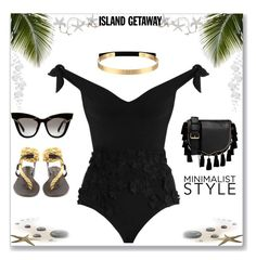 """Strut.Swim.Slay"" by ladylillie ❤ liked on Polyvore featuring Zimmermann, Álvaro, Steve Madden and Rebecca Minkoff"