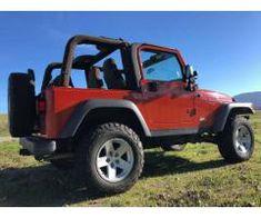 2005 Jeep Wrangler Rubicon in Impact Orange Sell Used Car, Used Cars, Orange Jeep, 2005 Jeep Wrangler, Used Jeep, Stills For Sale, Monster Trucks