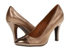 Sofft Marilla Gold Blush/Copper Velvet Sheep Nappa/Patent - 6pm.com