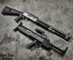Pistol grip and bullpup