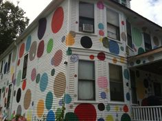 Have you ever seen a polka dot house?