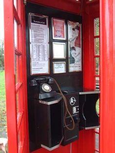 A telephone box Childhood Toys, Childhood Memories, Telephone Exchange, General Post Office, London Bus, London Calling, Old English, Landline Phone, Arcade