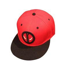 6e2d384bf2999 Deadpool hats baseball cap Snapback boy cap Adjustable Deadpool Children  sunhat Cool hat Gorras Bboy Hip