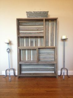 DIY Pallet Art Style Shelf - Multipurpose | Pallet Furniture DIY