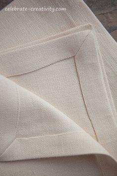 serviette corners: how to...