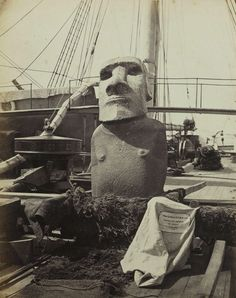 Tumblr-  From Easter Island to the British Museum in 1868....  Almost forgotten about.