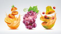 SOY JUICE MIXED WITH FRUITSClient: WOWProduct: Soyos JuiceAgency: Innova, São Paulo