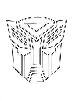 Transformers 037 coloring page | Bumblebee cake-spiration.