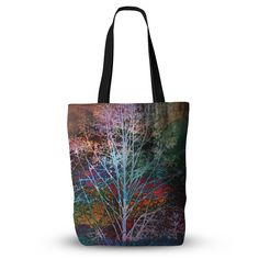 """Sylvia Cook """"Trees in the Night"""" Everything Tote Bag from KESS InHouse"""