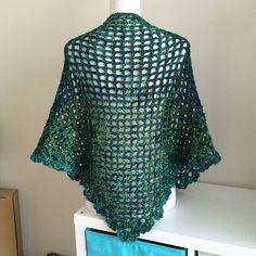 Vintage Lace Shawl & Triangle Scarf by Divina Rocco   malabrigo Mecha in Solis